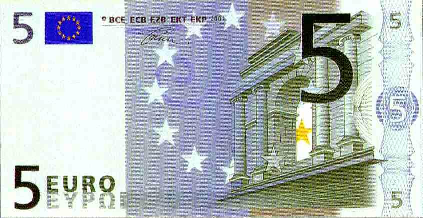 Première présidence européenne dans societe billet5euros1