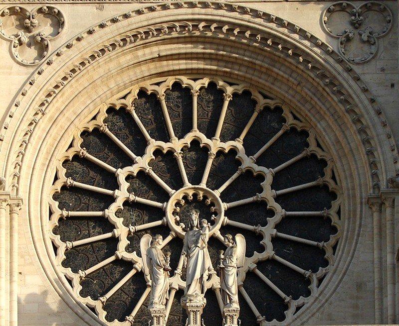 Le mystère des cathédrales - 14 dans religion granderosenotredameparis